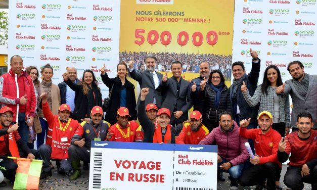Shell Club Fidélité atteint 500.000 membres