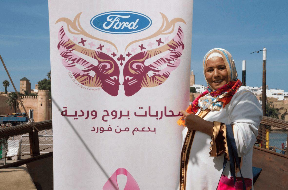 Ford et les « Combattantes en Rose »