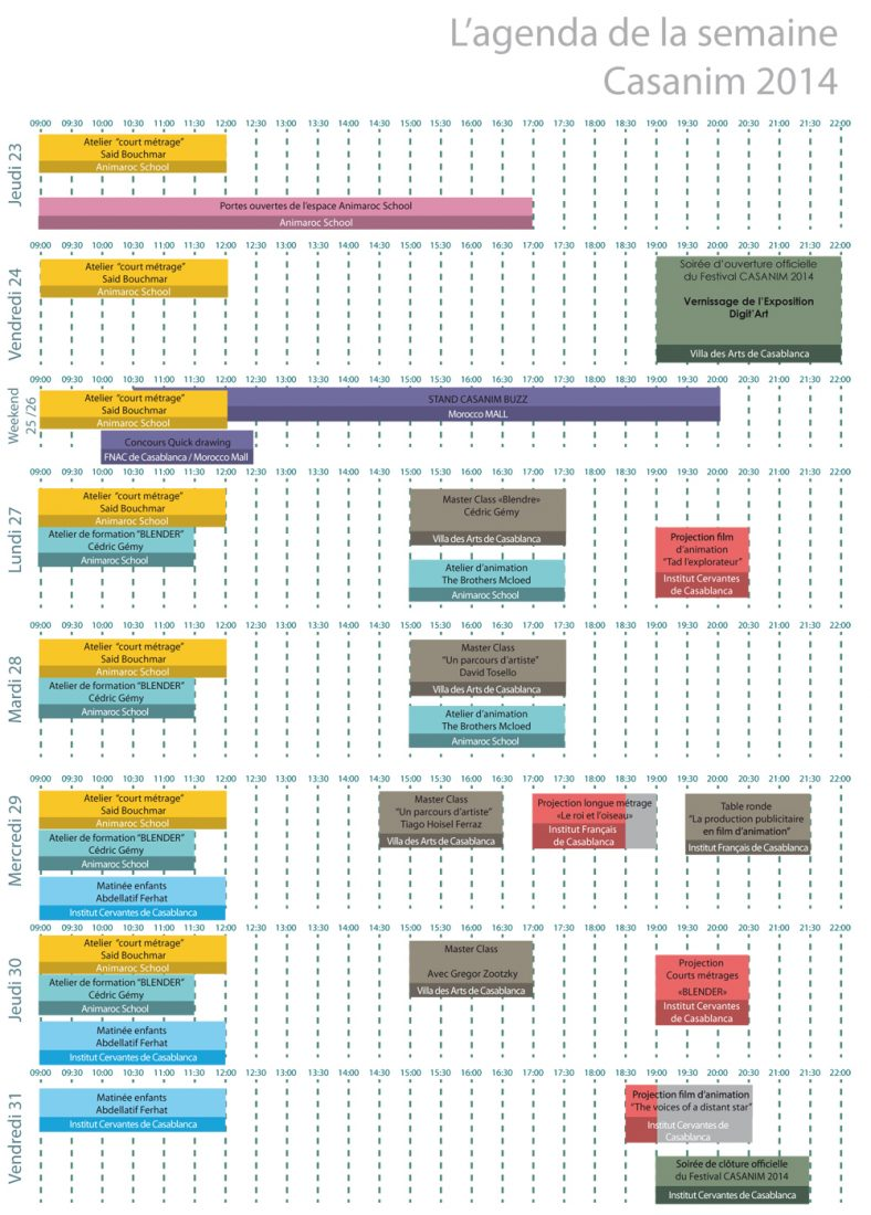 Flyer A5-Agenda CASANIM 2014 copie