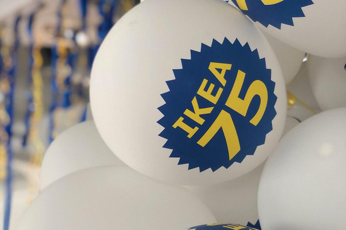 IKEA fête ses 75 ans d'existence