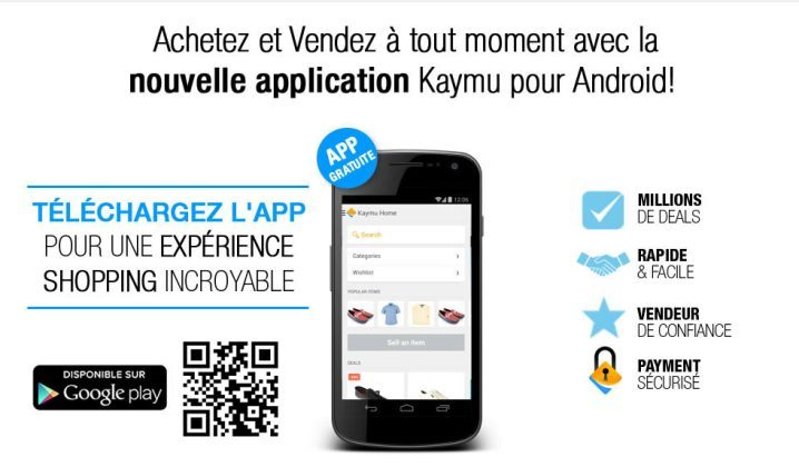 Kaymu lance son application mobile et son blog