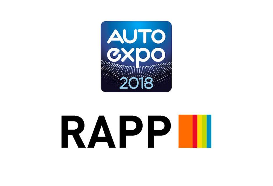 Auto Expo 2018 roule avec Rapp !