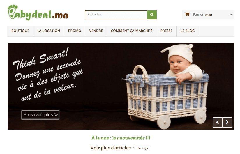 Babydeal.ma : Le réflexe écolo-économe pour les parents, bébés et enfants