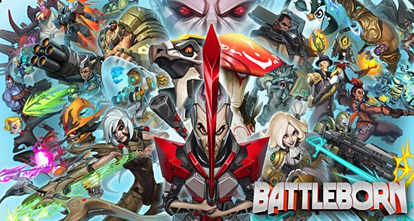 battleborn gearbox 2K borderlands