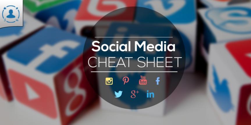 #Infographie :  Toutes les dimensions des réseaux sociaux mises à jour