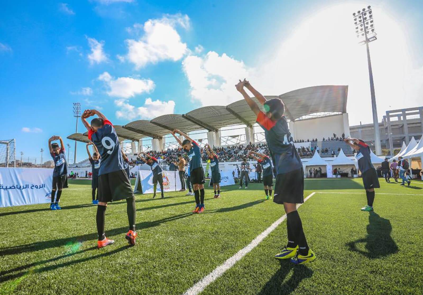 RSE : Centrale Danone rénove quatre terrains de football