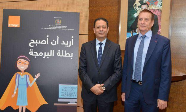 Coding : Partenariat entre Orange Maroc et le Ministère de l'Education Nationale