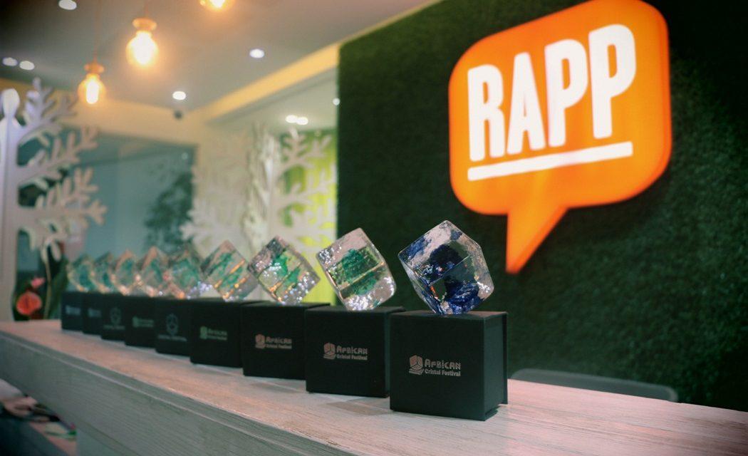 RAPP se distingue à l'African Cristal Festival