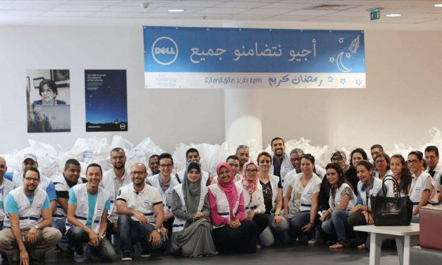 #RSE : Les collaborateurs de Dell Maroc poursuivent leur engagement
