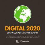 Le digital dans le monde – Juillet 2020