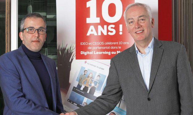 Digital Learning : IDEO Factory et Cegos célèbrent 10 ans d'alliance
