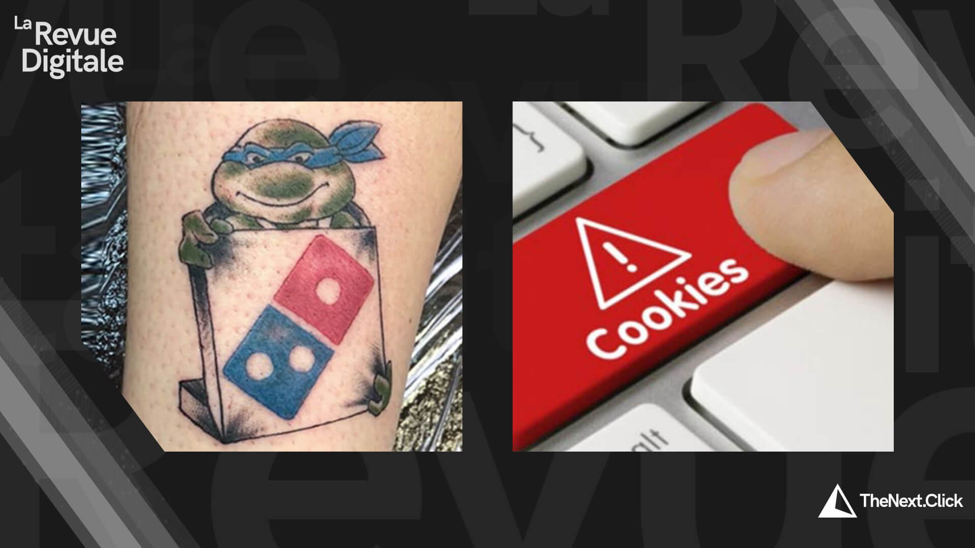 Domino's Pizza & ère post-cookies