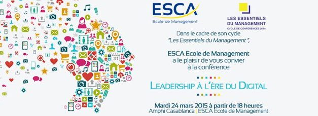 Table ronde ESCA : Le leadership à l'ère du digital
