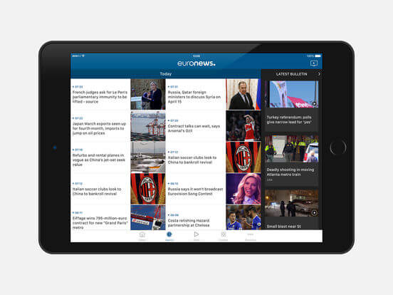 euronews digital ipad