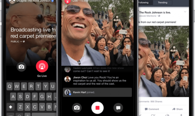 "Facebook lance ""Mention"", une application de live streaming"