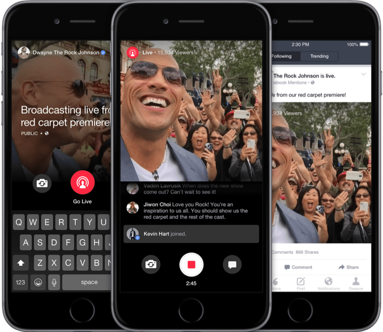 "Facebook lance ""Mention"", une application de live streaming"