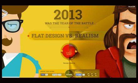 #Fun #Game : Flat Design versus Réalisme, la battle est lancée. Choisissez votre camp !