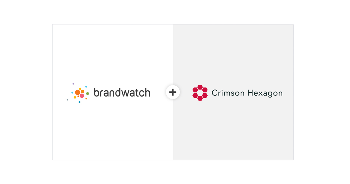 Brandwatch et Crimson Hexagon fusionnent