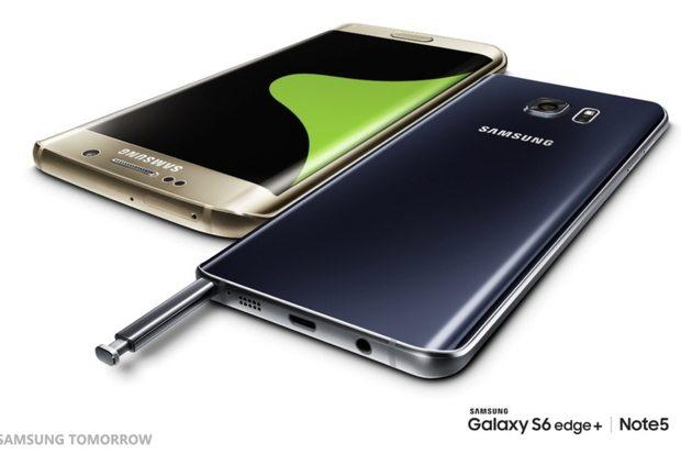 Samsung révèle le S6 Edge Plus & le Galaxy Note 5