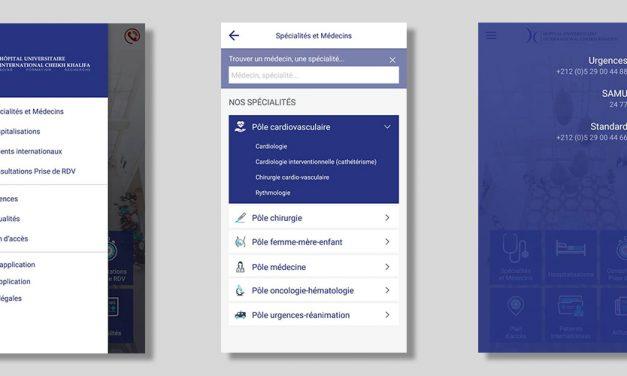 L'hôpital Cheikh Khalifa se dote d'une application mobile