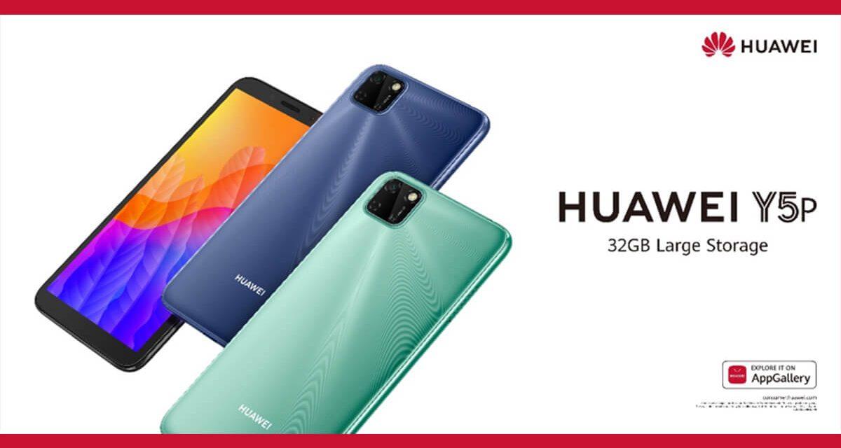 Lancement du Huawei Y5p