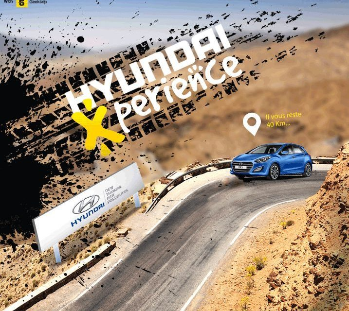 HyundaiXperience : un advergame pour promouvoir la nouvelle i30 Facelift