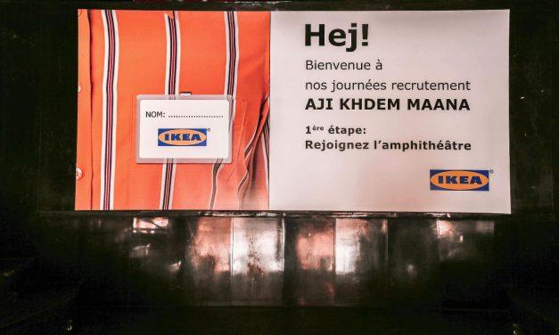 [ Reportage photos ] Aji Khdem Maana, le dispositif de recrutement original d'IKEA