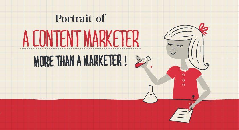 #Infographie : Portrait du Content Marketer