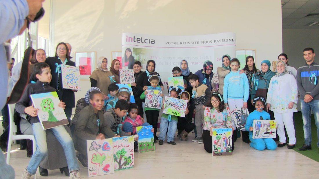#RSE : Intelcia renouvèle son soutien aux enfants autistes au Maroc