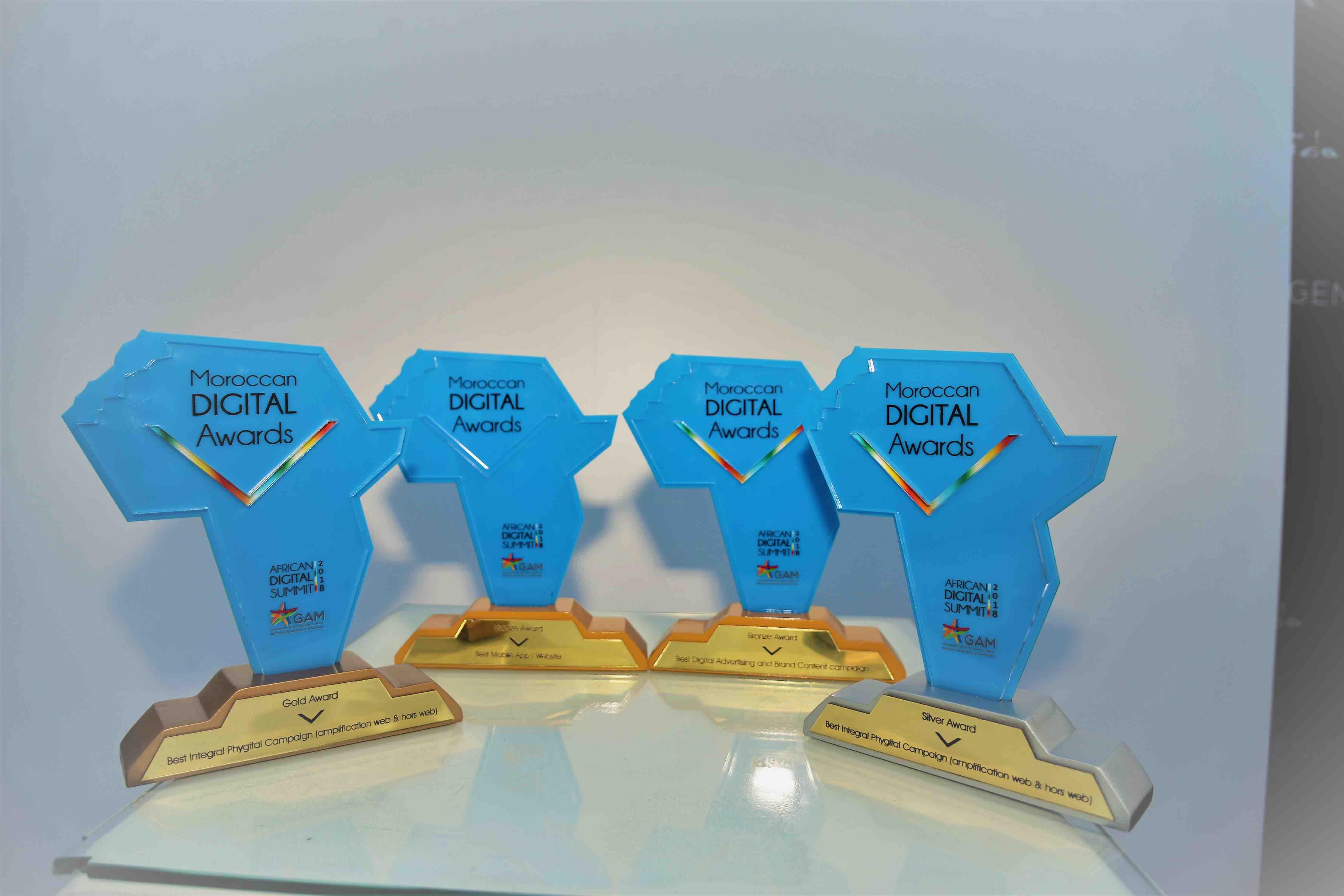 inwi, entreprise la plus titrée des Moroccan Digital Awards 2018