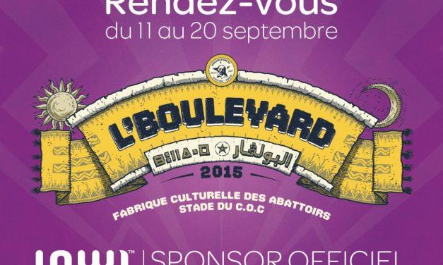 Inwi, sponsor officiel de « L'Boulevard 2015 »