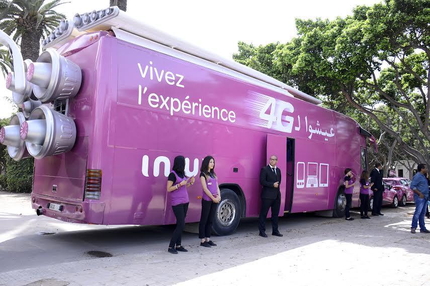 4G : inwi lance ses « Fast Bus » sur plusieurs villes