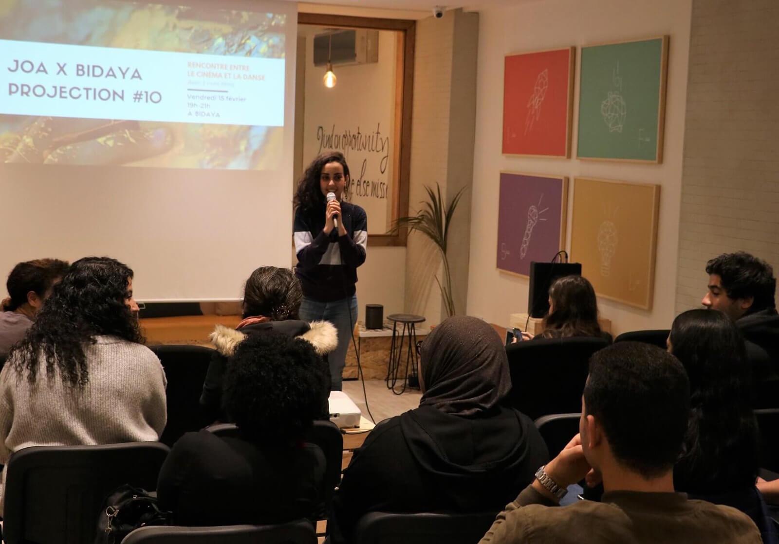 Joy Of Arts et Bidaya co-organisent une projection