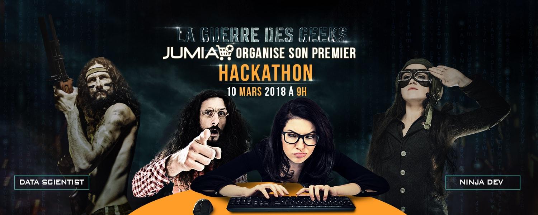 jumia la guerre des geeks-Hackathon