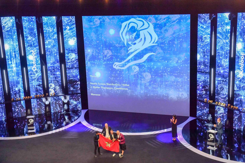 Cannes : JWT Casablanca entre dans l'histoire
