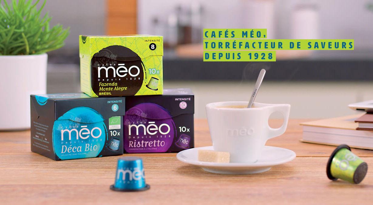 Les cafés Méo débarquent au Maroc