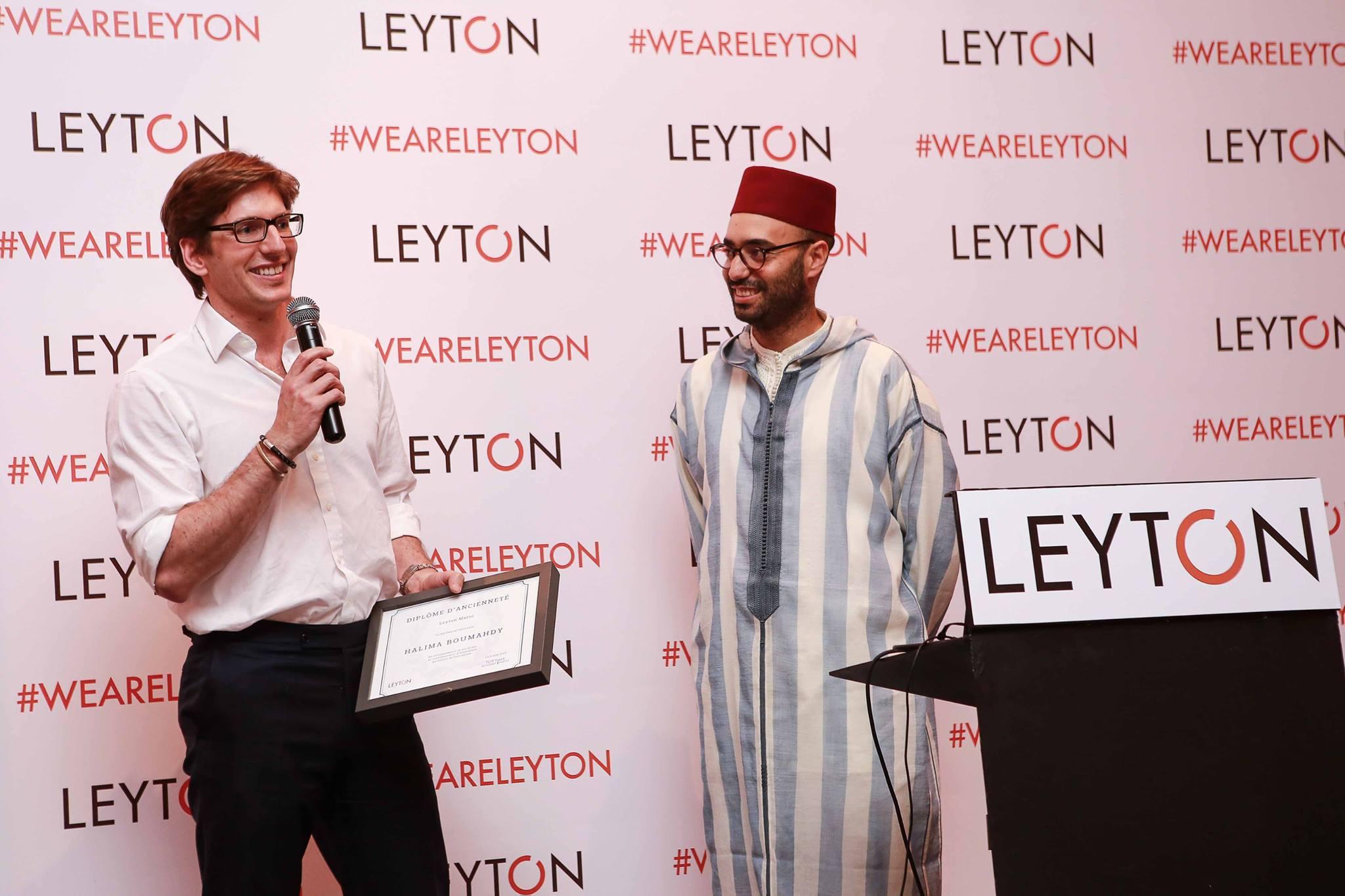 la soiree des 10 ans de leyton au maroc