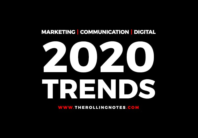 Trends for 2020 : Les prédictions de nos experts