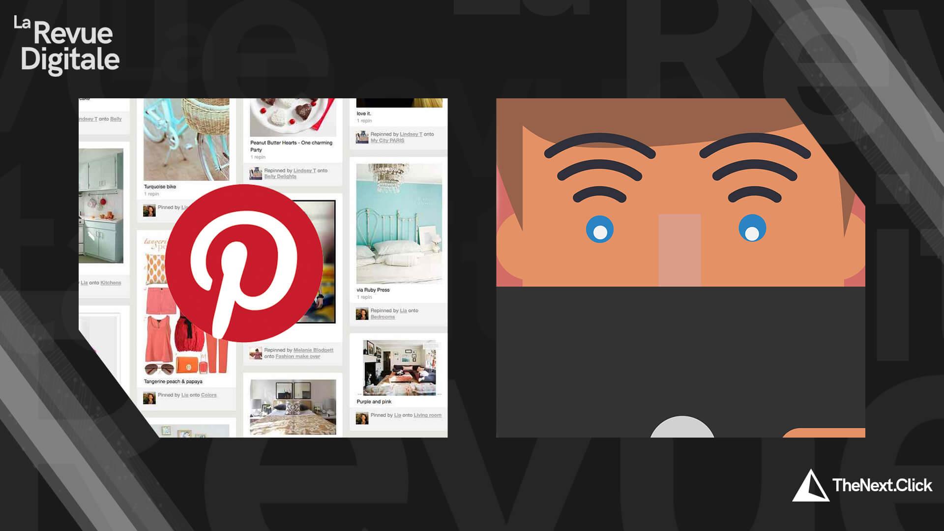 Les Marocains et Internet, Pinterest et Google Director Mix
