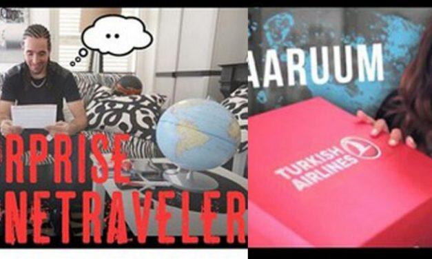 #FortuneTraveller : le nouveau mégabuzz de Turkish Airlines qui se prépare
