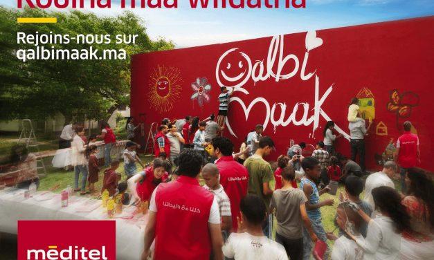 Qalbi Maak : Méditel s'engage en faveur de l'enfance