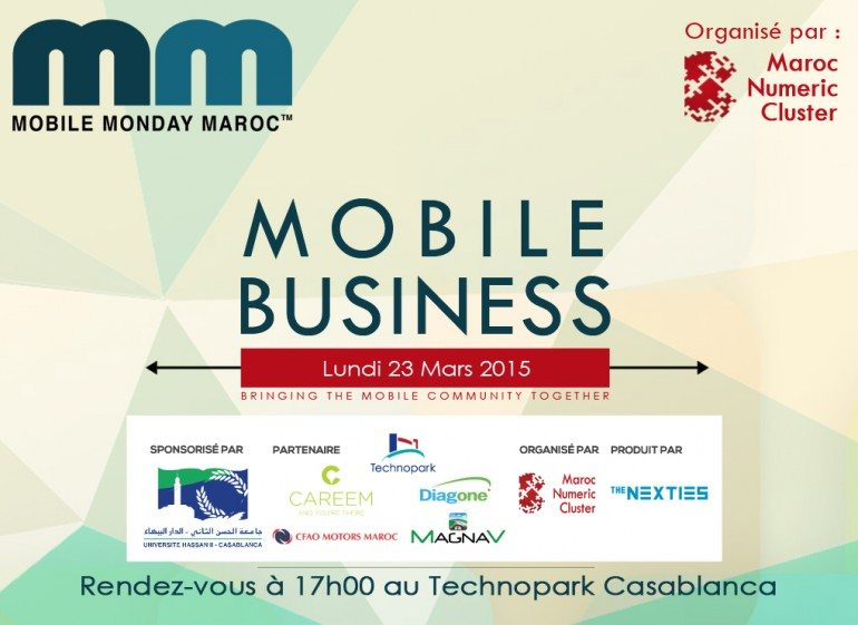 Nouvelle édition du Mobile Monday sur le Mobile Business