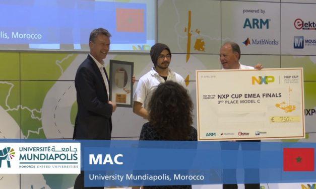 Le Maroc monte sur le podium de la NXP Cup EMEA