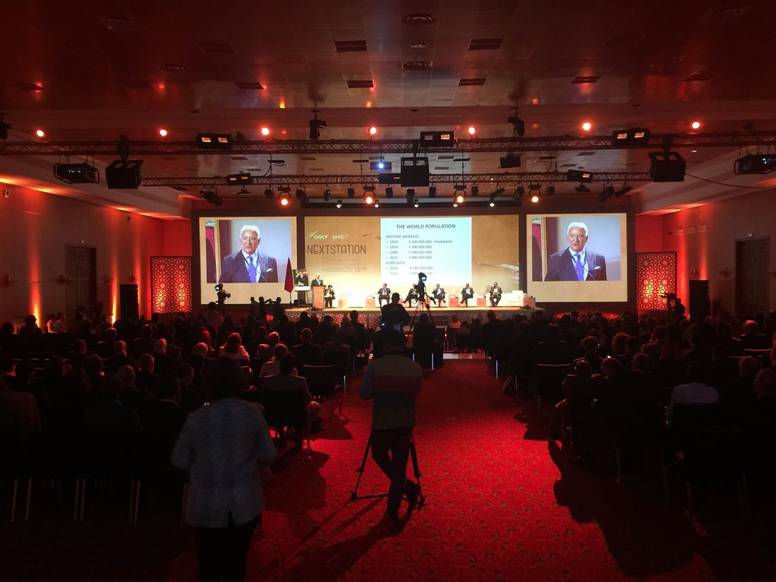 Next Station 2015 : Marrakech capitale mondiale du ferroviaire