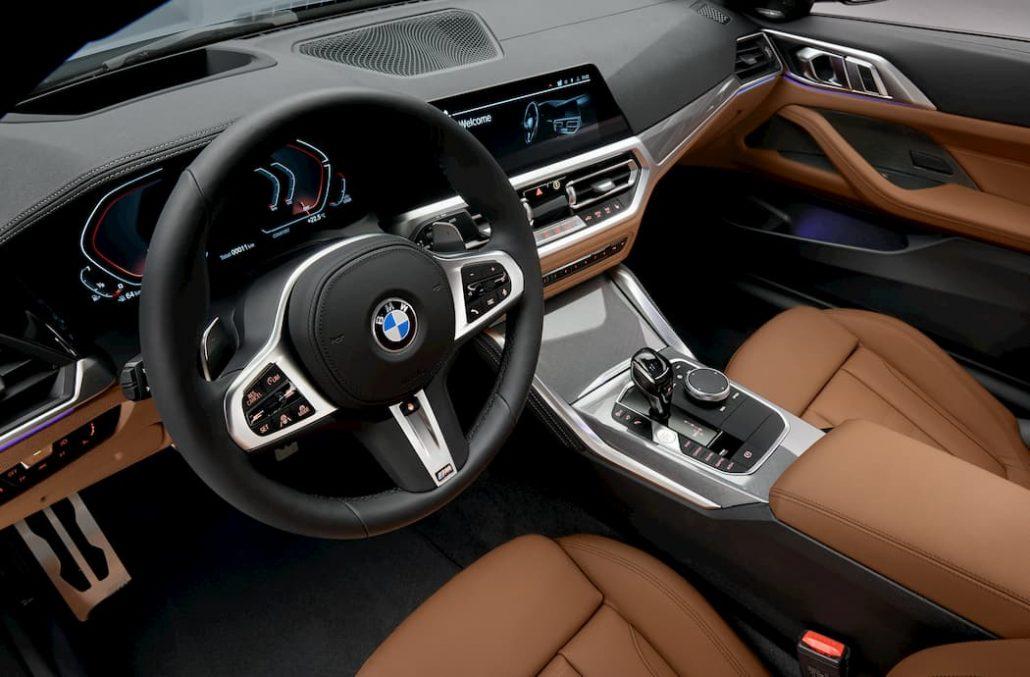 Nouvelle BMW Série 4 Coupé Intérieur