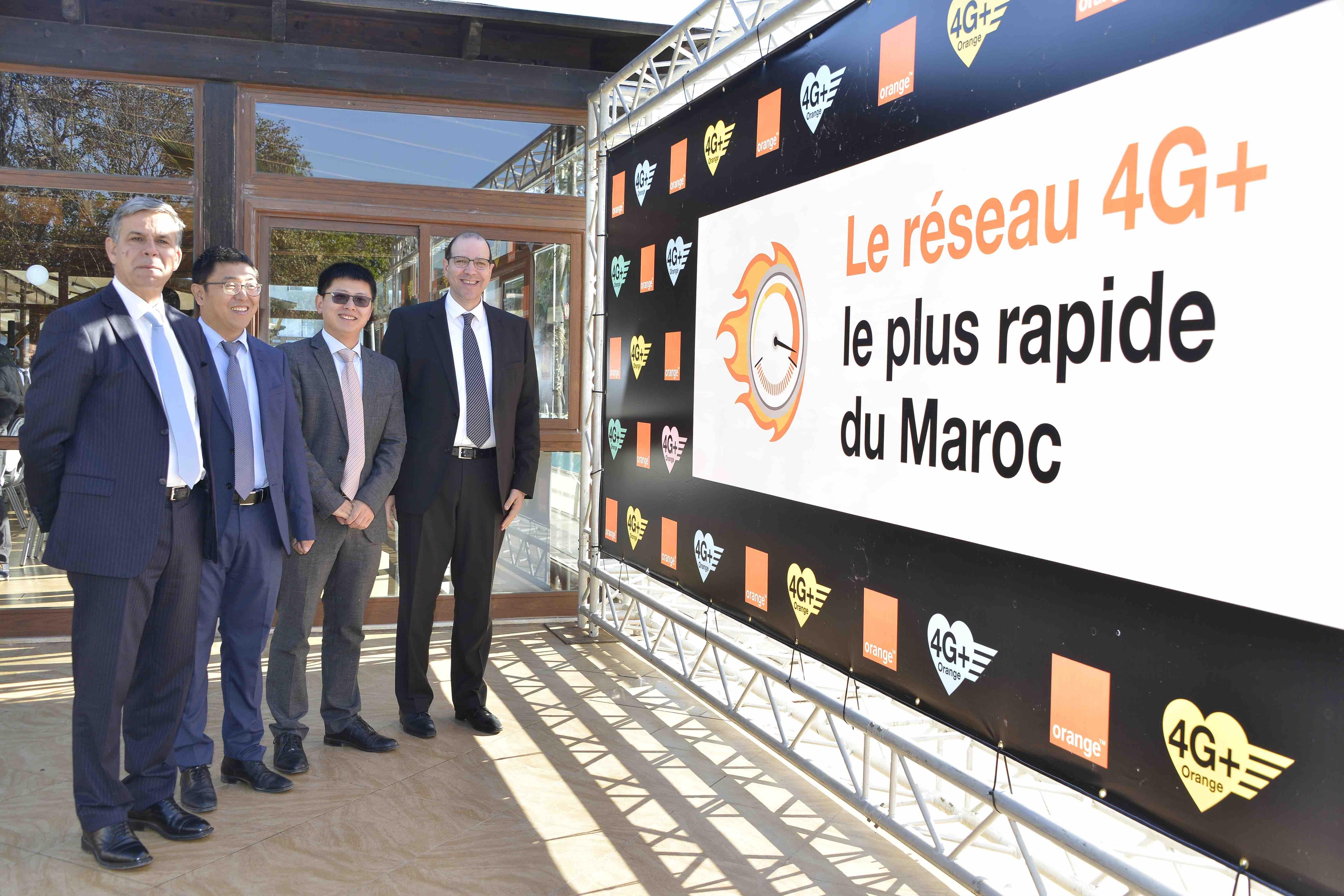 Orange annonce proposer le réseau 4G+ le plus rapide au Maroc