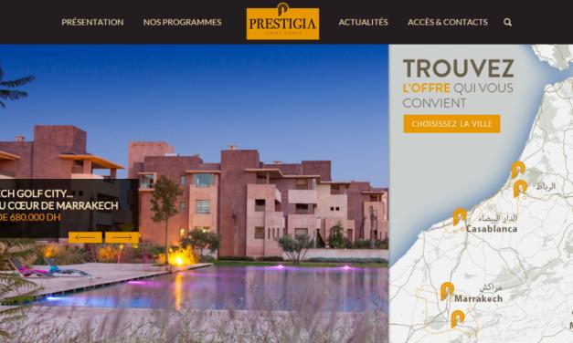 Prestigia lance une nouvelle version de son site internet