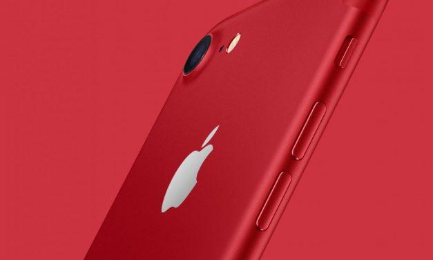 Apple présente l'iPhone 7 et l'iPhone 7 Plus (PRODUCT)RED Special Edition
