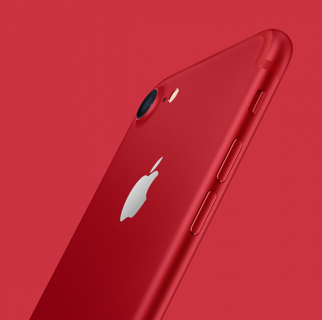 Apple présente l'iPhone 7 et l'iPhone 7 Plus (PRODUCT)RED Special Edition