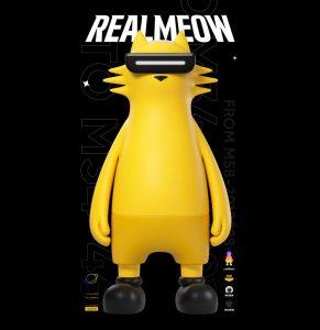 La marque de smartphone realme lance ainsi son premier jouet design « realmeow », qui se veut une combinaison d'un design à la fois high-tech et avant-gardiste.